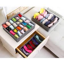 underwear organizer best 3 in 1 underwear storage box for ties socks shorts bra
