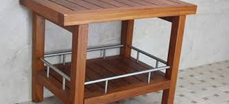 teak shower bench teak bath stools teak furniture aquateak