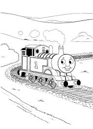thomas train coloring printable coloring