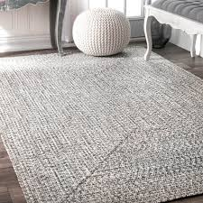 Indoor Outdoor Rug Nuloom Handmade Casual Braided Blue Indoor Outdoor Rug 8 6 X 11 6