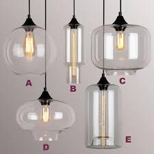 vintage classic diy ceiling lamp light glass multi pendant