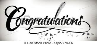 Congratulation Banner Vector Of Congratulation Text Banner Congratulations Text Banner