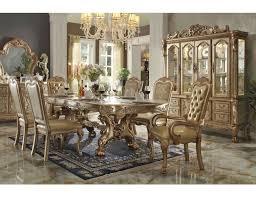 formal dining room set gold formal dining table set