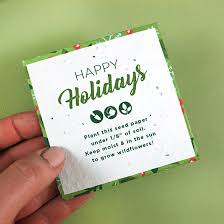 plantable petal gift card holders postcards