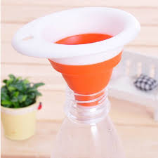 entonnoir cuisine rétractable mini entonnoir cuisine gadget silicone portable petit