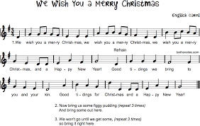 we wish you a merry beth s notes