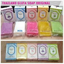 Sabun Thai gluta soap by winkwhite req wrn tulis di ket 100 ori thai berholo