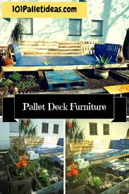 Outdoor Deck Furniture by Diy Pallet Deck Furniture Budget Free