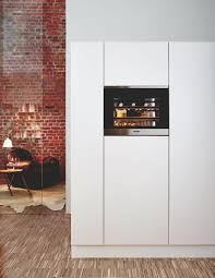 a very small wine cellar by miele home appliances world