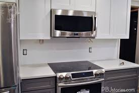 How To Put Up Kitchen Backsplash by Pbjstories Installing Subway Tile For Kitchen Backsplash