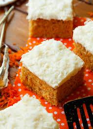 carrot snack cake