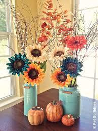 fall floral arrangements diy fall floral arrangement pet scribbles