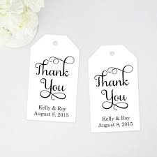 thank you tags thank you favor tag medium size 36 pieces