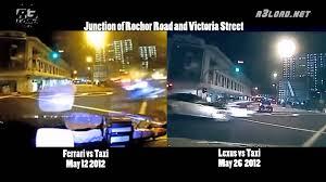 victoria lexus toyota bugis ferrari vs lexus crash side by side comparison youtube