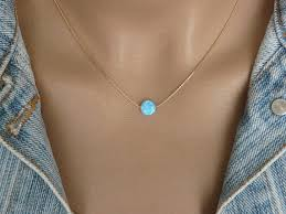 opal sterling silver necklace images Opal coin necklace opal necklace delicate opal necklace jpg