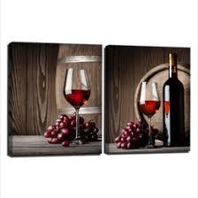 Wine Glass Wall Decor Wine Bottle Paintings Canvas Online Wine Bottle Paintings Canvas