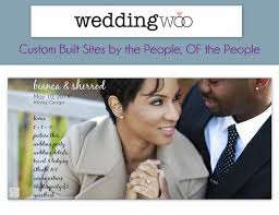 wedding site weddingwoo custom wedding websites by the of the
