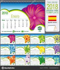 Schreibtisch M El 24 Dreieck 2018 Kalendervorlage Mit Abstrakten Floralen Design Größe