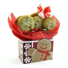 Cookie Gift Baskets Gingerbread Man Gourmet Cookie Gift Box By Gift Baskets Etc