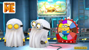 despicable me 2 minion rush new ghost minion costume