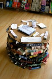 table basse touret bois faire une table basse avec des livres u2013 phaichi com