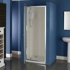 760mm pivot shower door