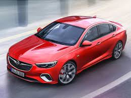 opel red 2018 opel insignia gsi revealed drive arabia