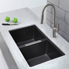 Granite Kitchen Sinks Kitchen Beautiful Grey Granite Composite Sink White Within Sinks