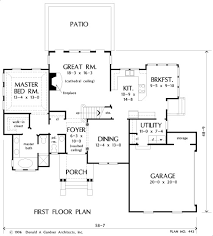The G443 14 X 20 X 10 Garage Plan Free House Plan by Home Plan The Ballentine By Donald A Gardner Architects