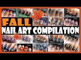 fall nail art compilation meliney how to thanks giving autumn