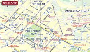 kabul map kabul historic khyber pass itmb stanfords