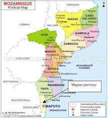 Mozambique Map Mapping Malaria Incidence Distribution That Accounts For