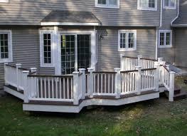 wood deck building plans with deck designs decor image 16 of 22