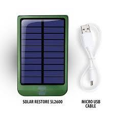 Diy Solar Phone Charger Amazon Com 2600mah Portable Solar Phone Charger And External
