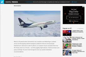 Press Advertising Aeromexico Multi Format Am Lab7 From The Aeromexico Digital Innovation And E Commerce