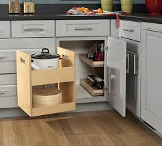 blind corner kitchen cabinet inserts maximize your space with cabinet organizers