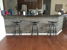 Kitchen Island Made From Reclaimed Wood Timberchic Reclaimed Peel And Stick Wood Planks Perfect For Any