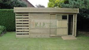 petit chalet de jardin pas cher stunning abri de jardin en bois toit plat photos yourmentor info