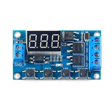 multifunction dual mos control cycle timer module delay time