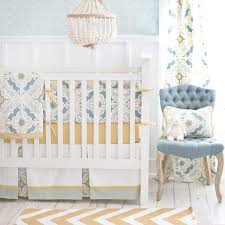 Pink And Gold Nursery Bedding Gold Unisex Baby Bedding