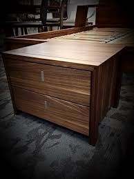 Solid Walnut Bedroom Furniture by Valore Nightstand By Team7 In Solid Walnut Night Stand