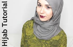 tutorial hijab nabiilabee hijab tutorial 4 styles with loop scarf nabiilabee youtube