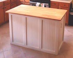 unfinished kitchen island diy butcher block cabinet bottom island with electric outlet