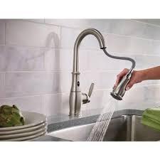touchless kitchen faucets houzz moen brantford kitchen faucet with moen brantford faucet