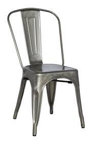 White Metal Chairs Outdoor 24 Best Kitchen Chairs Gun Metal Images On Pinterest Kitchen