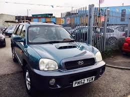 hyundai santa fe diesel manual 2 0 alloys aircon 2 owner service