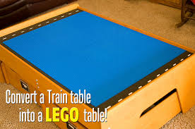 Imaginarium Train Set With Table 55 Piece Train Table To Lego Table