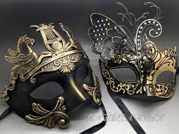 masquerade party masks gold black laser cut metal butterfly and rome warrior