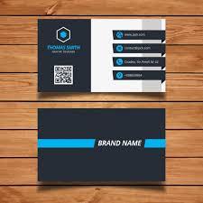 modern business card design vector free