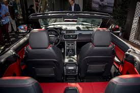 2016 land rover range rover interior 2017 land rover range rover evoque convertible first impressions